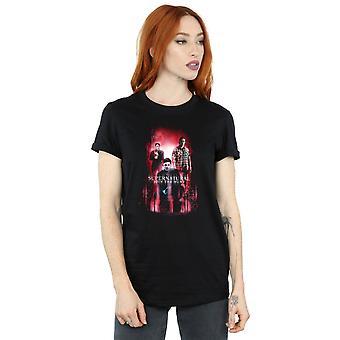 Supernatural Women's Group Crowley Boyfriend Fit T-Shirt