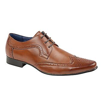 Route 21 Mens 3 Eye Wing Cap Gibson Brogues