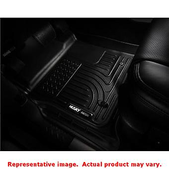Husky Liners 99641 Black WeatherBeater Front & 2nd Seat FITS:NISSAN 2013 - 2014