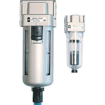 SMC Af 5Um G 1/2 Pneumatic Filter, Manual