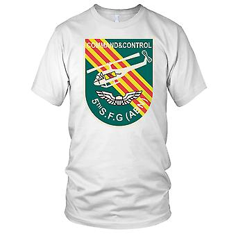 Command and Control 5th Special Force Abn Vietnam War - Clean Effect Ladies T Shirt