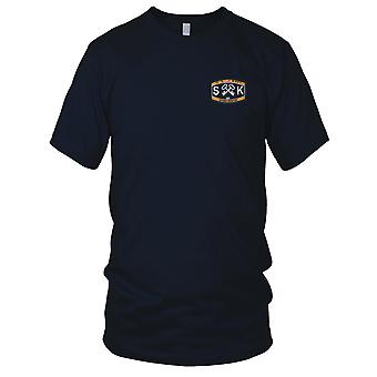 US Navy SK-Deck Rating Storekeeper Embroidered Patch - Ladies T Shirt