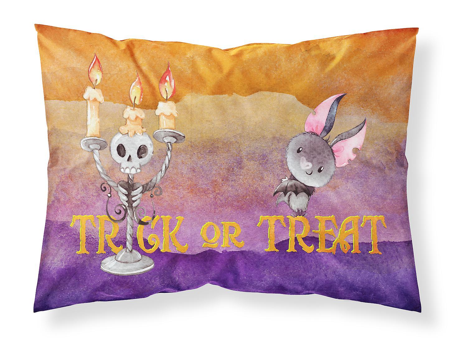 D'oreiller Régal Ou De Taie Halloween Tissu Trick Standard J3KlFcT1