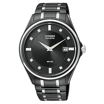 Citizen Eco-Drive Diamond Mens Watch AU1054 - 54G