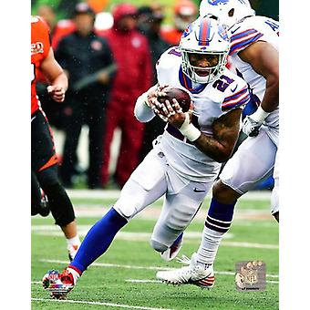 Jordan Poyer 2017 Action Photo Print