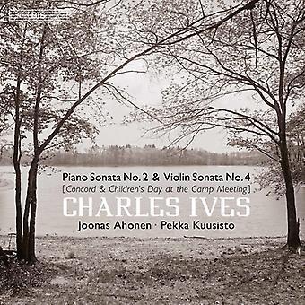 Ives / Ahonen / Bezaly - import USA Concord Sonata [SACD]