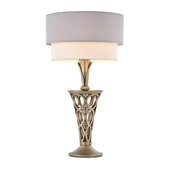 Maytoni Lighting Lillian House Collection Table Lamp, Pearl Gold