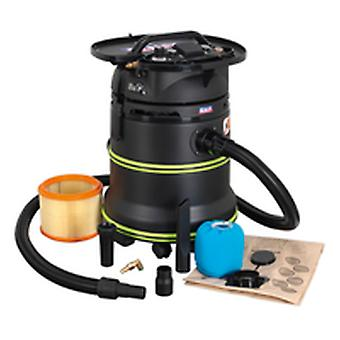 Sealey Dfs35M Vacuum Cleaner Industrial Dust-Free Wet & Dry 35Ltr 1000W/230V