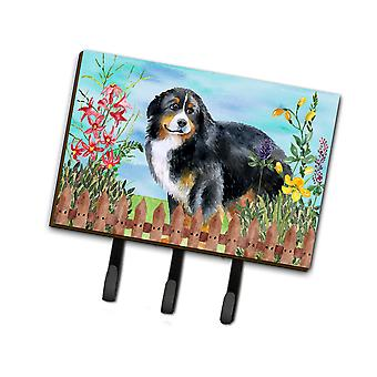 Carolines Treasures  CK1207TH68 Bernese Mountain Dog Spring Leash or Key Holder