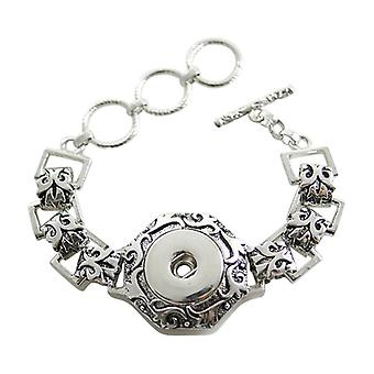 Stainless Steel Bracelet For Click Buttons Kb0181