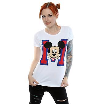 Disney Mickey Maus M Gesicht Frauenunterhemde