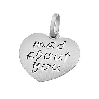 Pendant -mad about you- silver 925