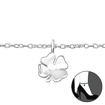 Clover - 925 Sterling Silver Anklets - W27656x