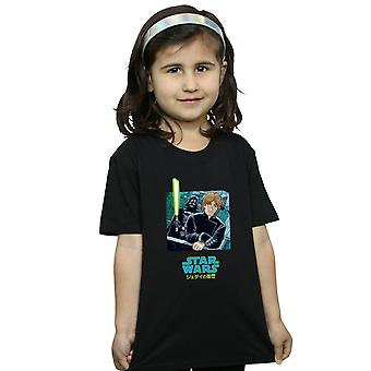 Star Wars Girls Vader And Luke Anime T-Shirt