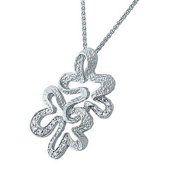 Orphelia Silver 925 Chain With Pendant Zirconium  ZH-7077