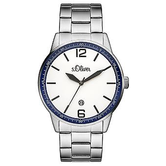 s.Oliver men's watch wristwatch stainless steel SO-3283-MQ