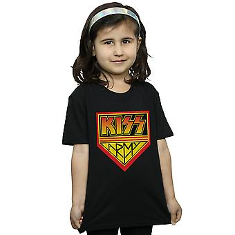Kiss Girls Army Logo T-Shirt