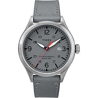 Timex mens watch Waterbury traditional 40 mm leather TW2R71000