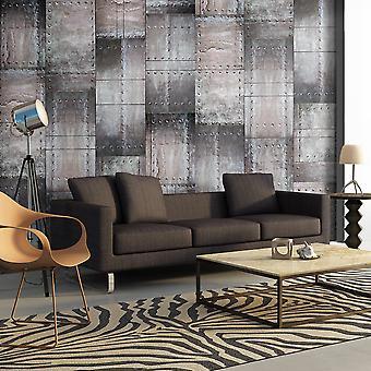 Wallpaper - muro de latón