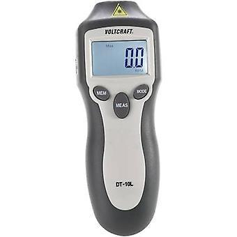 VOLTCRAFT DT - 10L varvräknare 2-99999 rpm tillverkare standarder (inga certifikat)