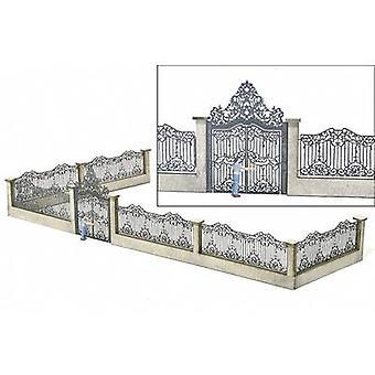 MBZ 80108 H0 Palace Gate with Fence