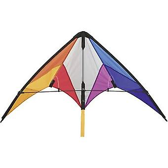 Stunt Kite HQ Calypso II Rainbow Spannweite 1100 mm ATT. FX. WIND_FORCE_SUITABILITY 2-5 bft