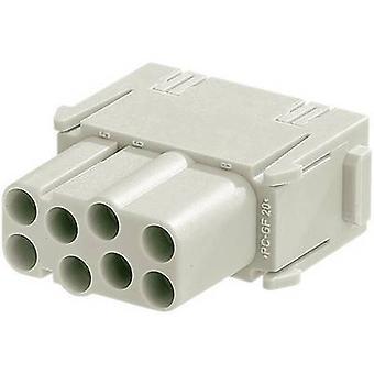 Socket inset Han® C-Modul 09 14 008 3101 Harting 8 + PE Crimp 1 PC('s)