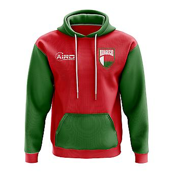 Madagascar Concept Country Football Hoody (Red)