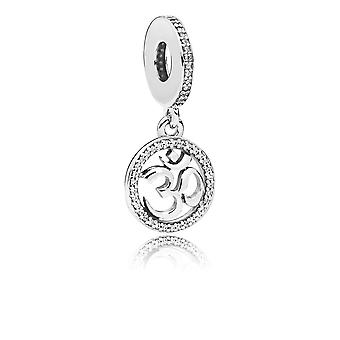 PANDORA Om Symbol Dangle Charm - 797584CZ