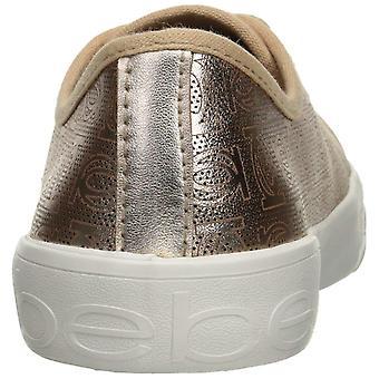 المرأة بيبي داين النسيج الرباط أعلى منخفضة حتى الأزياء أحذية رياضية
