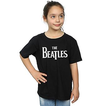 The Beatles Girls Drop T Logo T-Shirt