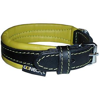Num'axes Everyday Life Coneckt Leather Collare-Black/Green