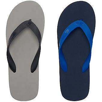 6033cec82a86 Animal Mens Costaz Slip On Summer Beach Holiday Flip Flops Sandals