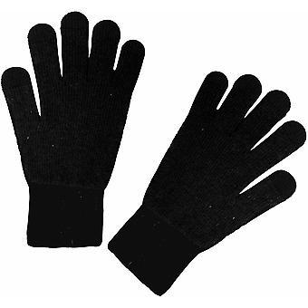 Manbi Steiner Silk / Spandex Gloves  - Black