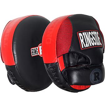 Aria Ringside Boxing Punch Mitts - rosso/nero