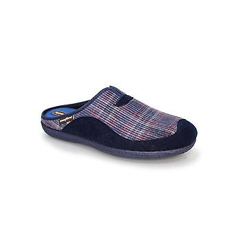 Goodyear York Mule Checked Slipper