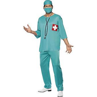 Chirurgen Kostüm, Brust 42
