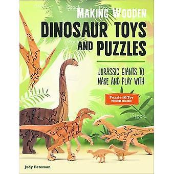 Att göra trä dinosaurie leksaker och pussel - Jurassic jättar att göra och