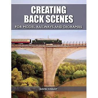 Criando cenas volta para estradas de ferro modelo e Dioramas por David Wright