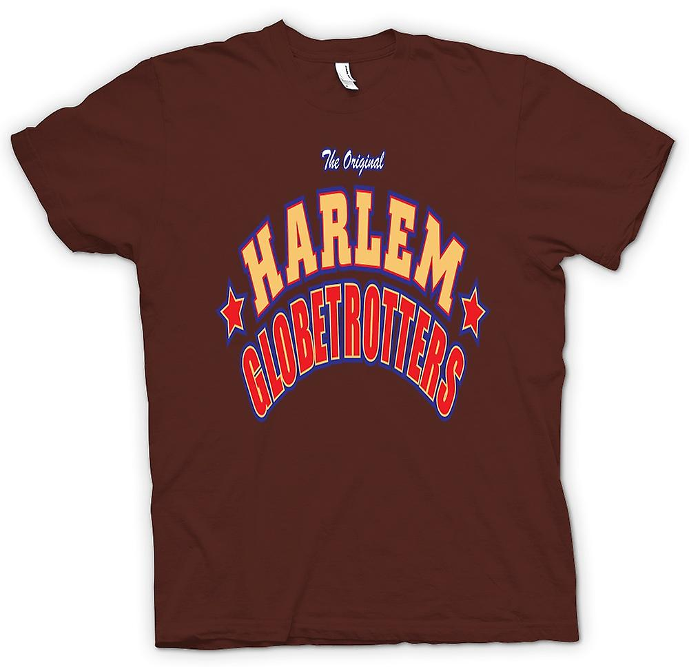 Mens t-shirt - Harlem Globetrotters - basket