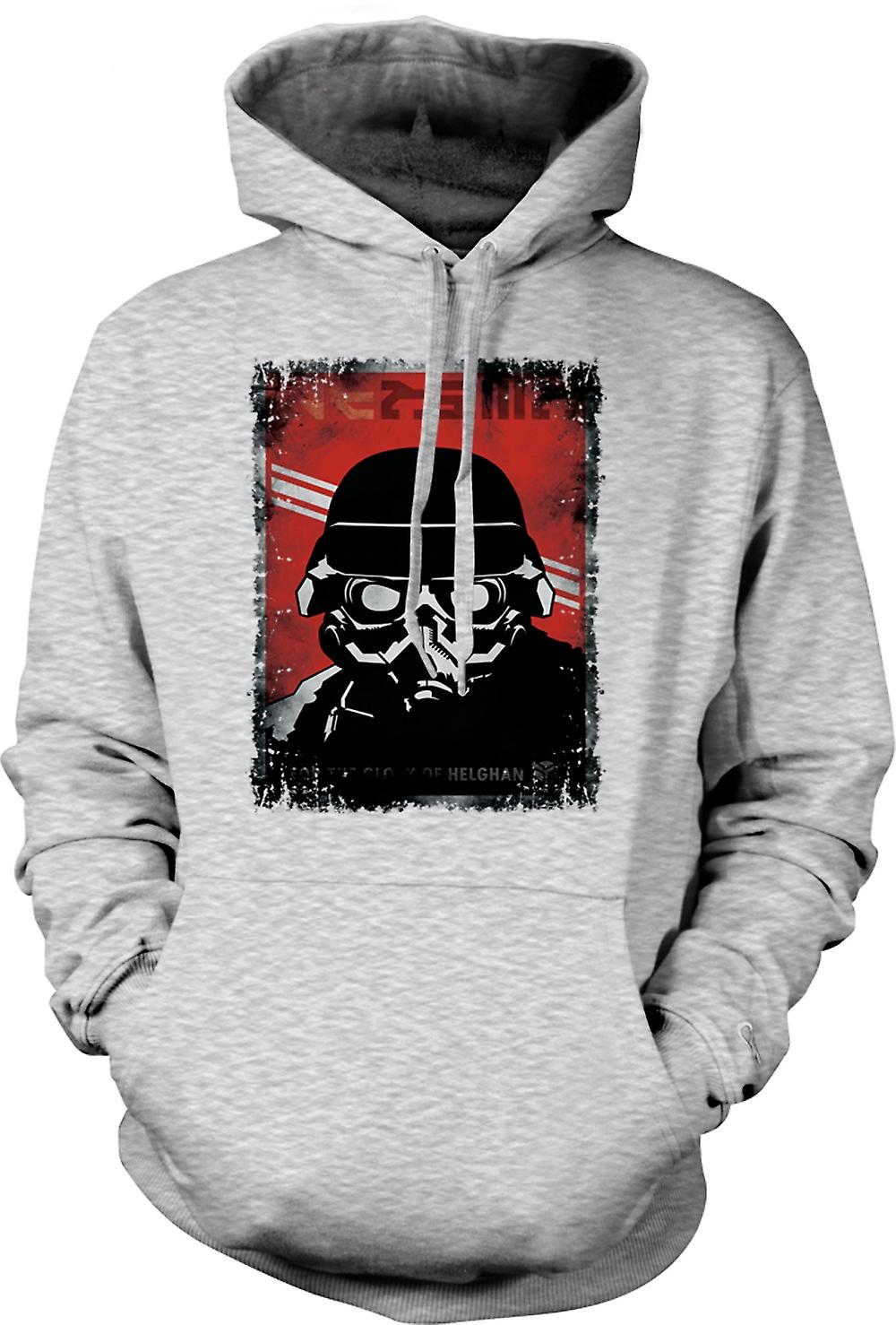 Mens Hoodie - Kill Zone Helgan Gamer