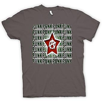 تصميم القميص النسائي-الشرير الصخرة الفوضى-