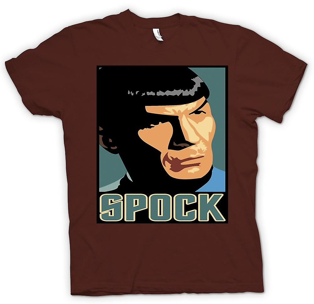 Mens T-shirt - Star Trek - Pop Art - Spock