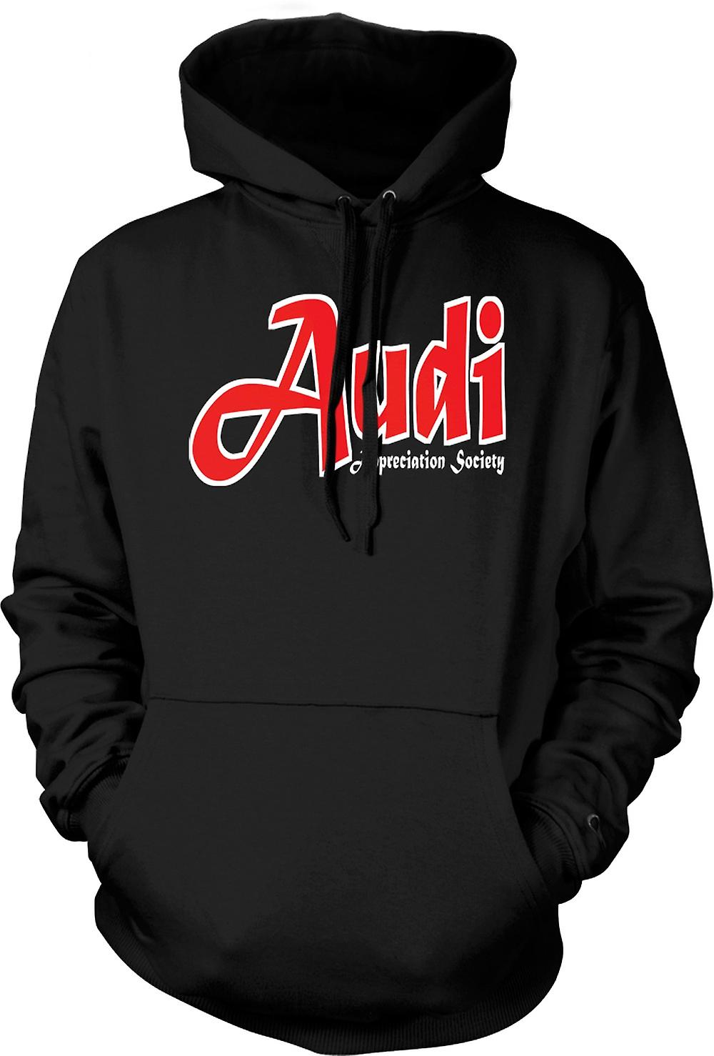 Mens Hoodie - Audi Appreciation Society