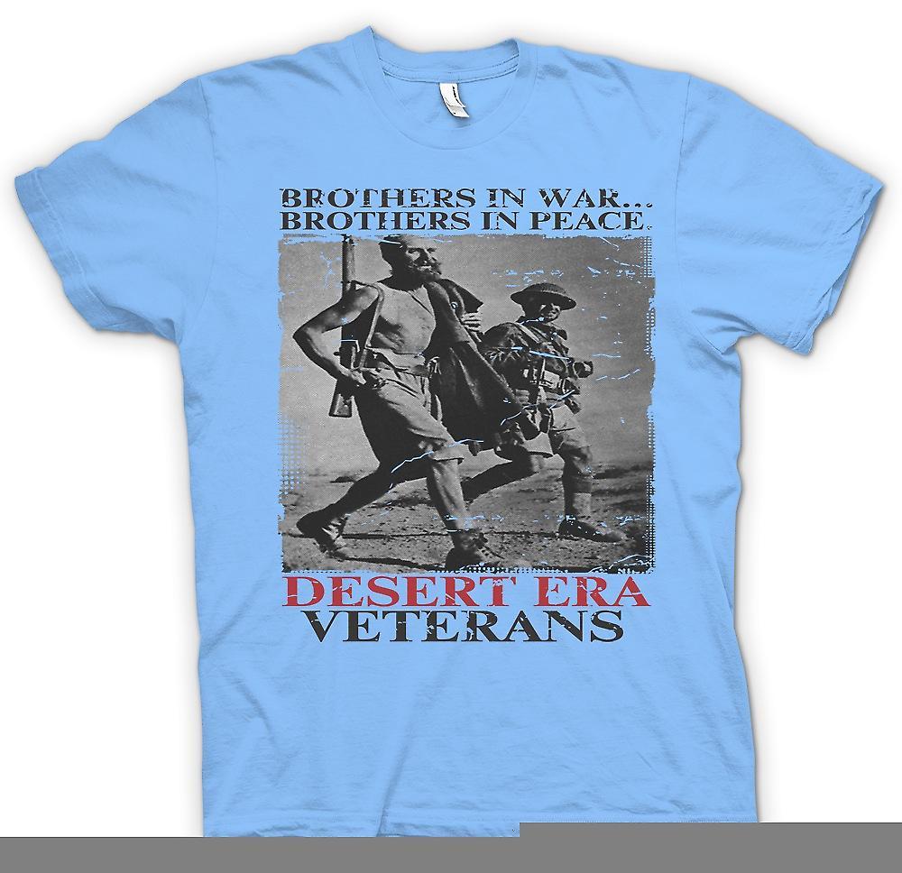 Heren T-shirt - woestijn tijdperk veteranen - Brothers In oorlog