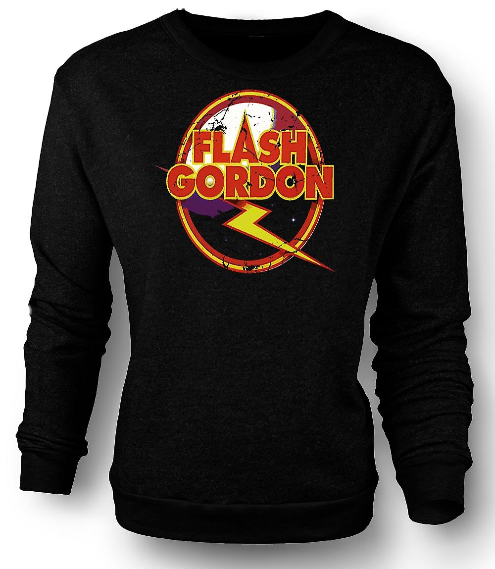 Mens Sweatshirt Flash Gordon Logo - Sci Fi