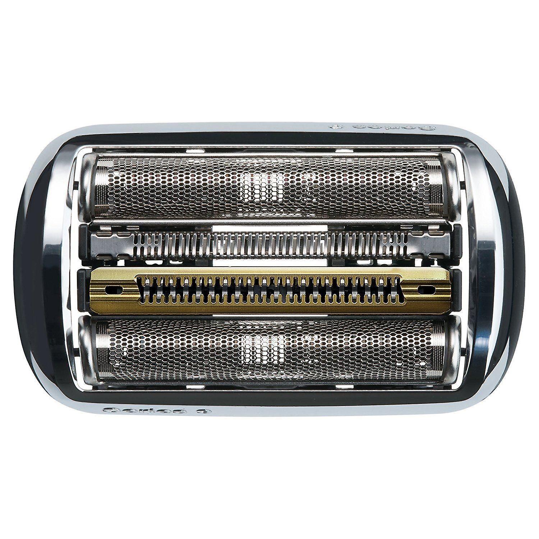 Braun Series 9 elektrisch scheerapparaat vervanging Cassette Cartridge folie, 92S, zilveren - EU Blister