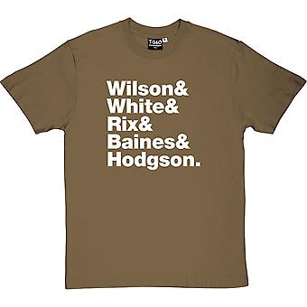 Kaiser Chiefs Line-Up Men's T-Shirt