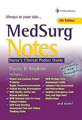 MedSurg Notes - Nurse& 039;s Clinical Pocket Guide by Tracey Hopkins - 9780