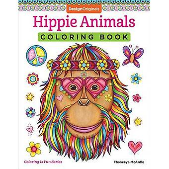 Hippie Animals Coloring Book by Thaneeya McArdle - 9781497202085 Book
